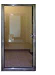 Противопожарная дверь металлическая с остеклением более 25% ei 60
