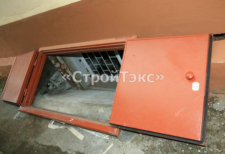 Как спрятать противопожарные двери на балконе.