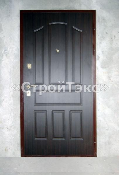 металлические противопожарные двери с декоративной отделкой
