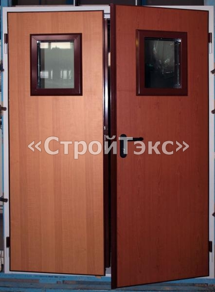 противопожарные металлические двери с отделкой мдф купить в москве
